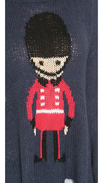 Wildfox Soldier Boy Sweater
