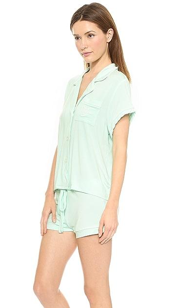Wildfox Sleeping In Summer Pajama Set