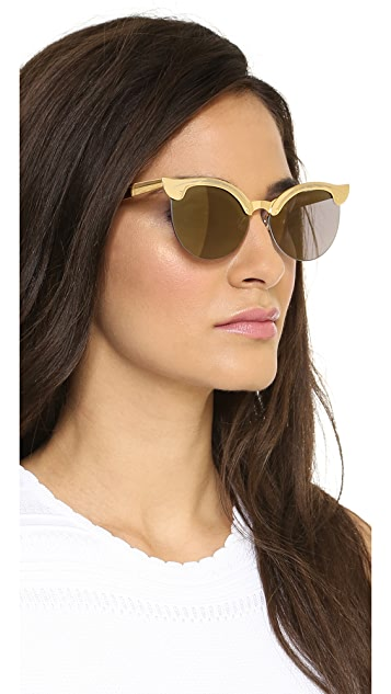 Wildfox Crybaby Deluxe Sunglasses