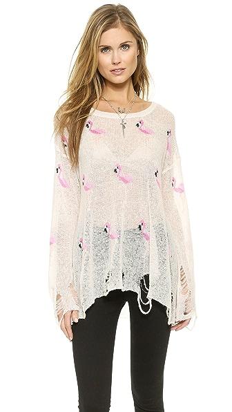 Wildfox Miami Suburb Sweater