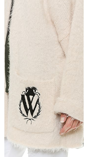 Wildfox Classic Logo Cardigan