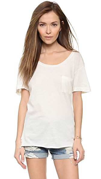 Wildfox Essential Pocket Tee