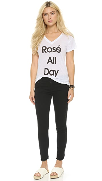 Wildfox Rose All Day Easy Tee