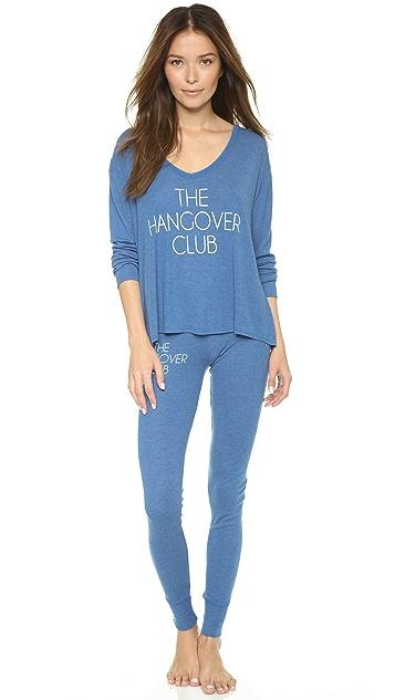 Wildfox The Hangover Club PJ Set