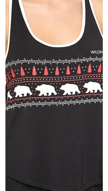 Wildfox Alaska Bears PJ Set