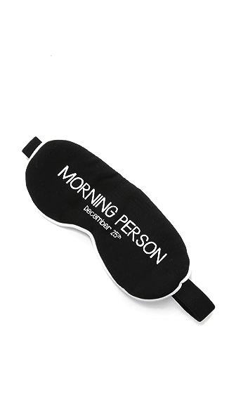 Wildfox Morning Person Sleep In Eye Mask