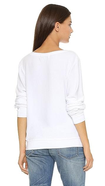Wildfox Rose All Day Sweatshirt