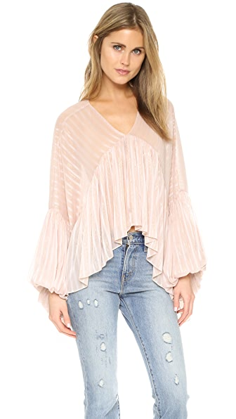 Wildfox Draped Princess Top