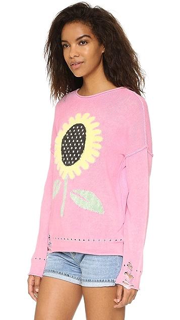 Wildfox Sunflower Bloomy Sweater