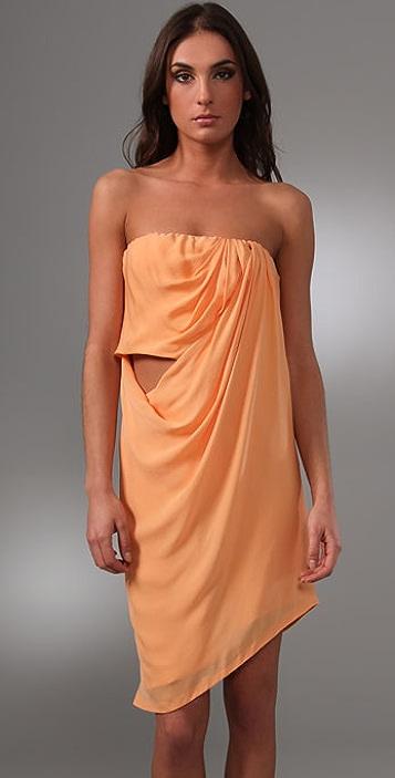 Willow Strapless Sarong Dress