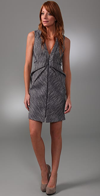 Willow Sculpted Tuck Front Dress