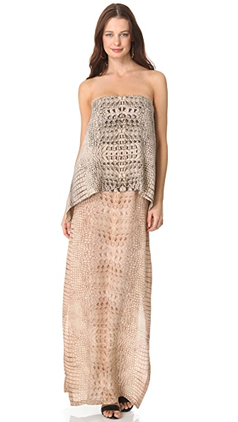 Willow Layered Strapless Dress