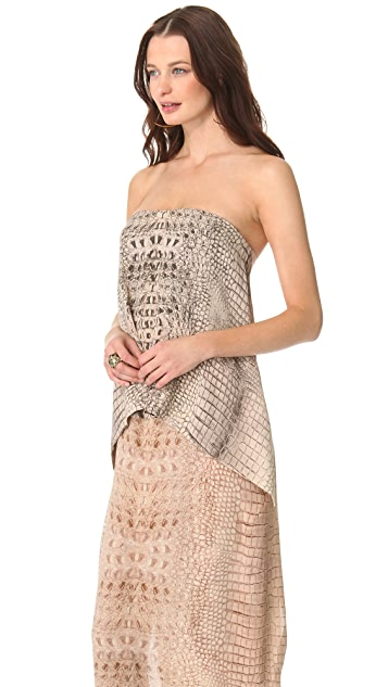 Willow Layered Strapless Dress