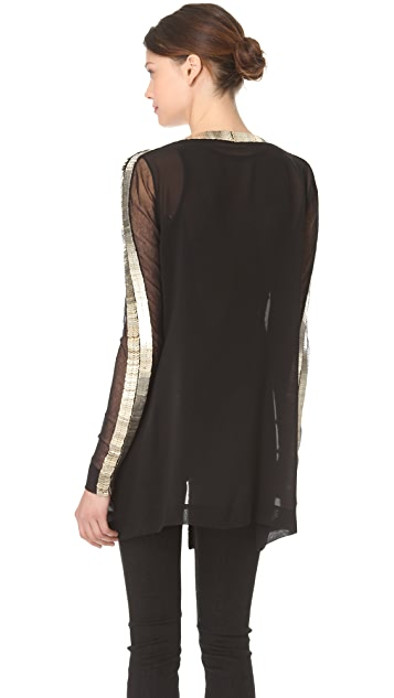 Willow Metal Spine Trim Jacket