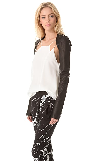 Willow Leather Harness Sleeves