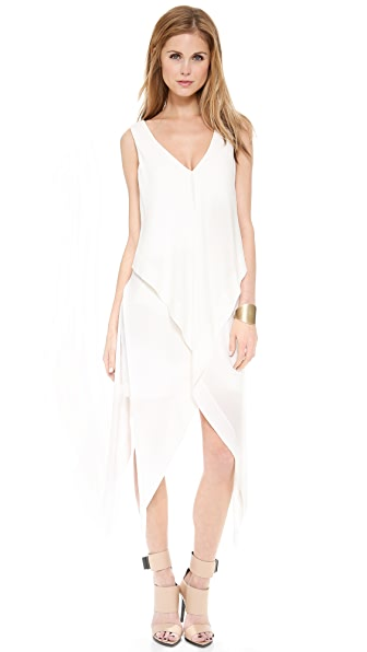 Willow Layered Draped Dress