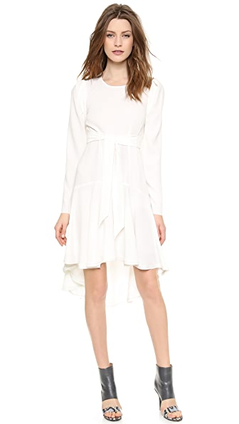 Willow Long Sleeve Loose Panel Dress