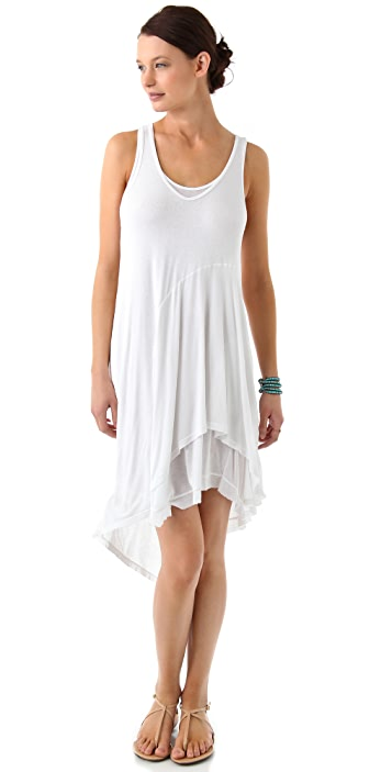 Wilt Layered Midi Tank Dress