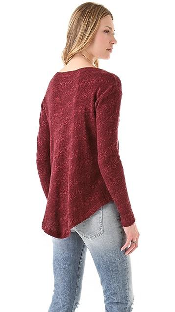 Wilt Hi Lo Shirttail Sweater