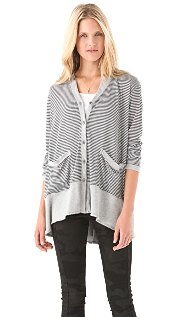 Wilt Slouchy Notched Cardigan