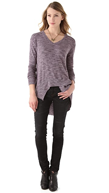 Wilt Boxy Space Dye Sweater