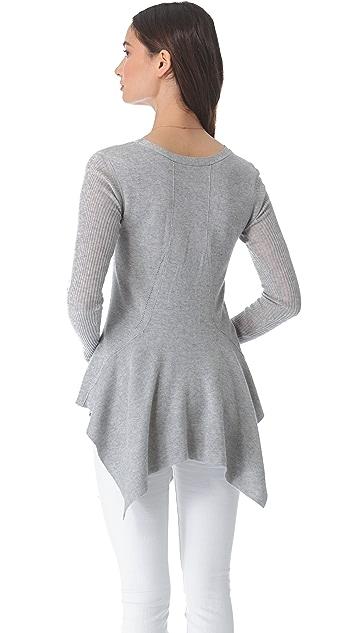 Wilt Peplum Tunic Sweater