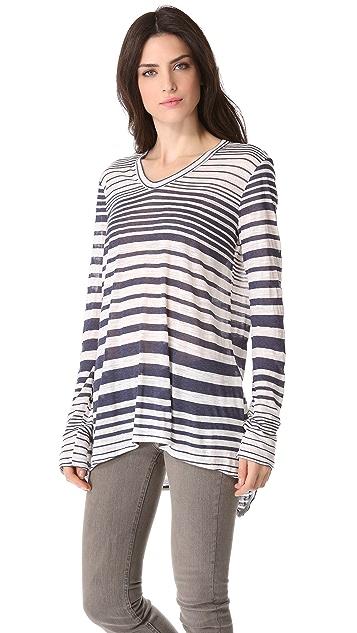 Wilt Slouchy Boyfriend Long Sleeve Pullover