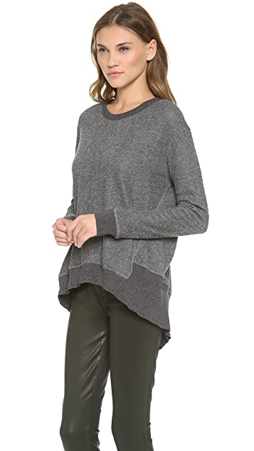 Wilt Back Slant Sweater