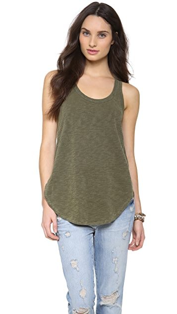 Wilt Shrunken Shirttail Tank