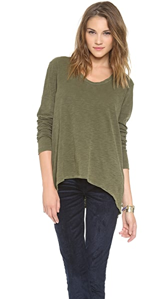 Wilt Shrunken Slouchy Boyfriend Top