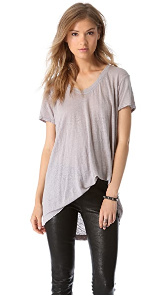 Wilt Easy Raw T-Shirt with Short Sleeves