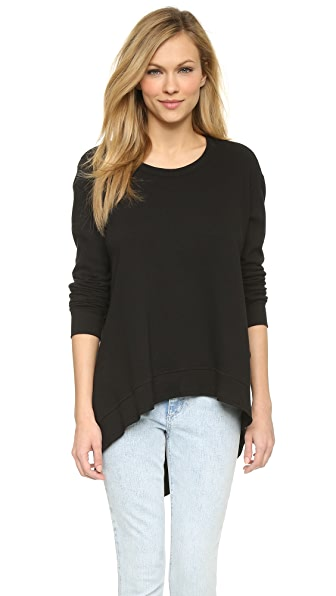 Wilt Basic Big Sweatshirt - Black