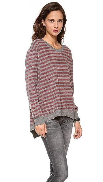 Wilt Big Back Slant Sweatshirt