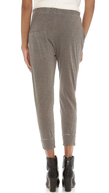 Wilt Crop Slub Jersey Sweatpants