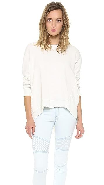 Wilt Basic Big Backslant Sweatshirt