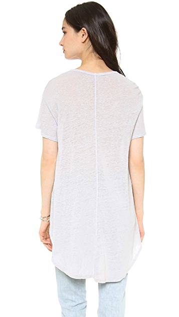 Wilt Slouchy Lux High Low Tee