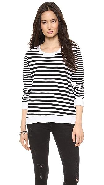 Wilt Baby Mix Stripe Sweatshirt