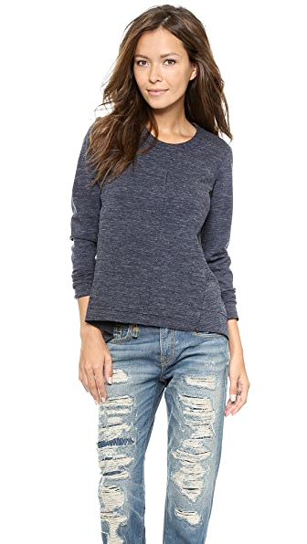 Wilt Raw Ponte Sweatshirt