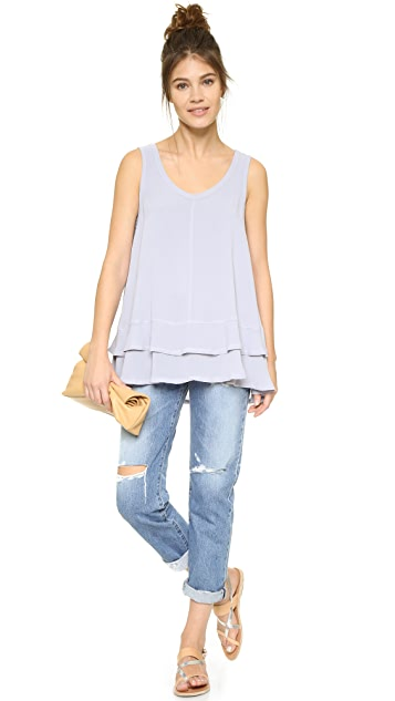 Wilt Double Layer Trapeze Top