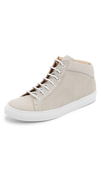 Wings + Horns Leather Mid Top Sneakers