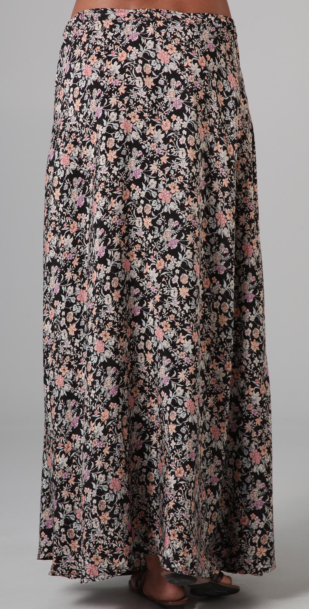 e976471366f0a Winter Kate Health Long Floral Skirt | SHOPBOP