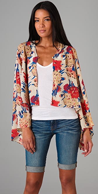 Winter Kate Roque Floral Shrug