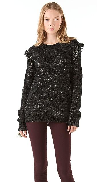 Winter Kate Fringe Sweater
