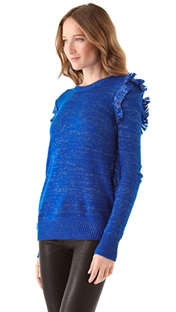 Winter Kate Fringe Sweater