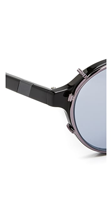 Westward Leaning Dyad 1 Clip Sunglasses