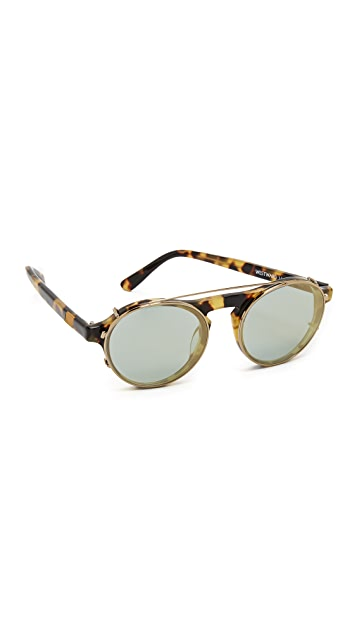 Westward Leaning Dyad 6 Clip Sunglasses