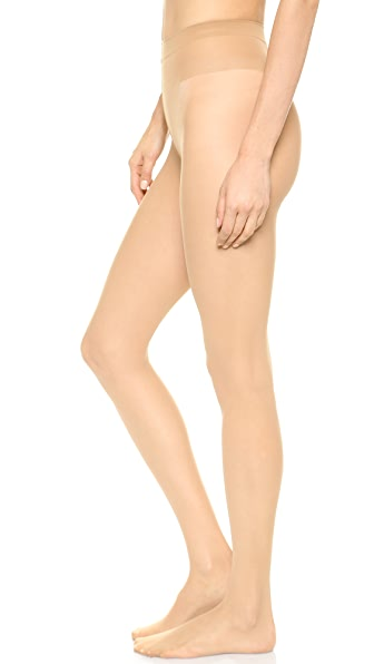 Wolford Individual 10 Tights In Sand
