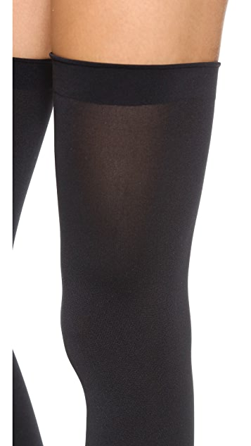 Wolford Fatal 80 Seamless Stay Up Tights