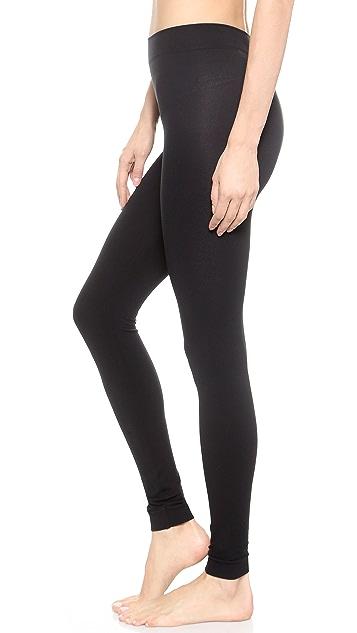 Wolford Velvet 100 Leg Support Footless Tights