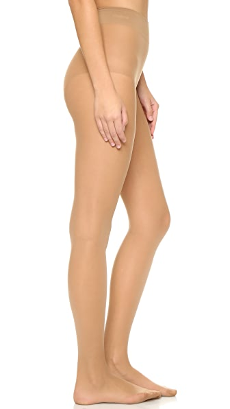Wolford Seamless Pure 10 Tights In Sand